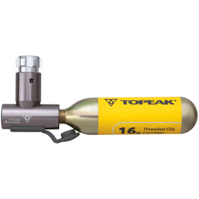 Topeak AirBooster Bike Pump grey